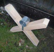 Cavalettikreuz Holz